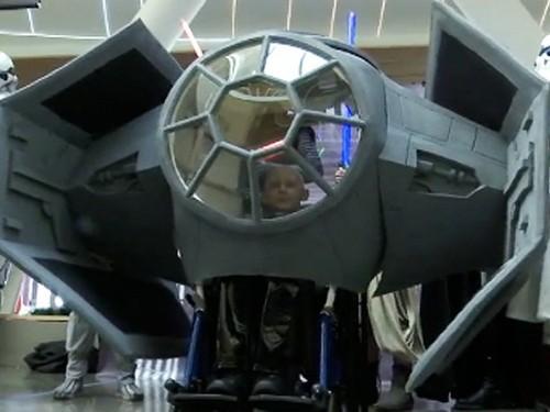 Космический корабль вместо инвалидного кресла
