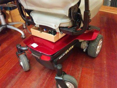 Управление инвалидной коляской с помощью голосовых команд