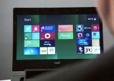 Управление в Windows 8 с помощью взгляда